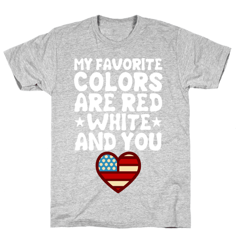 Red, White, And You Mens T-Shirt