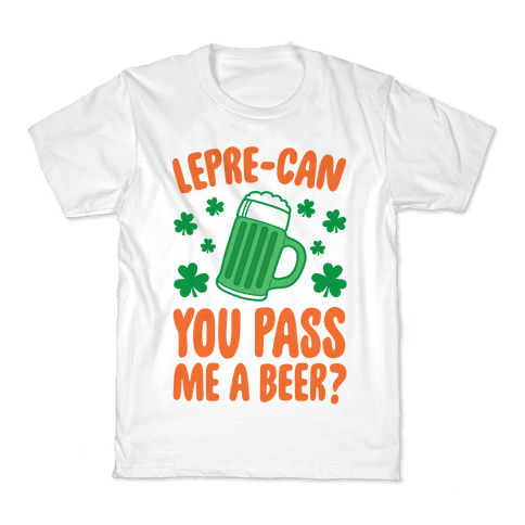 Lepre-Can You Pass Me A Beer? Kids T-Shirt