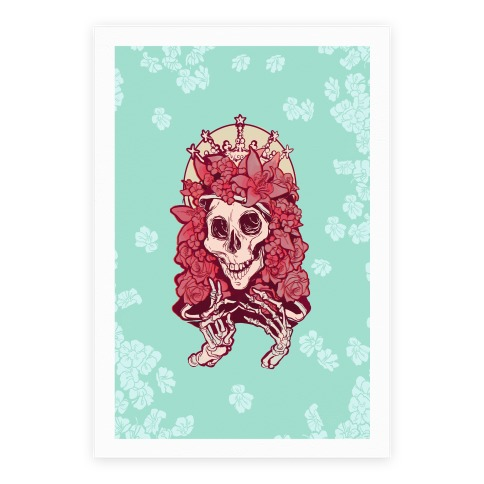 Mother's Lovely Skull Poster