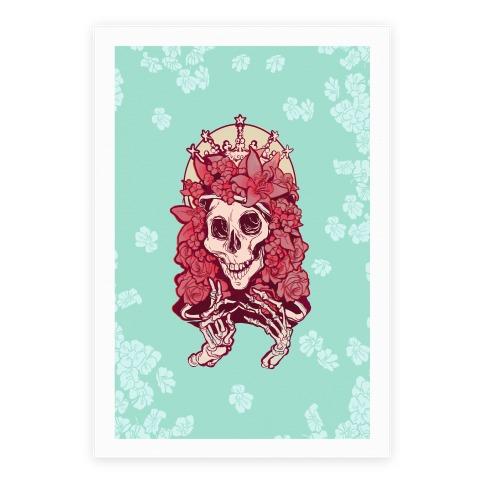 Mother's Lovely Skull Poster