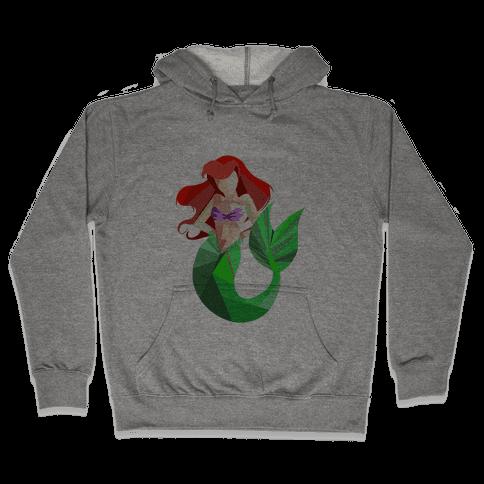 Princess of the Sea (Slim FIt) Hooded Sweatshirt