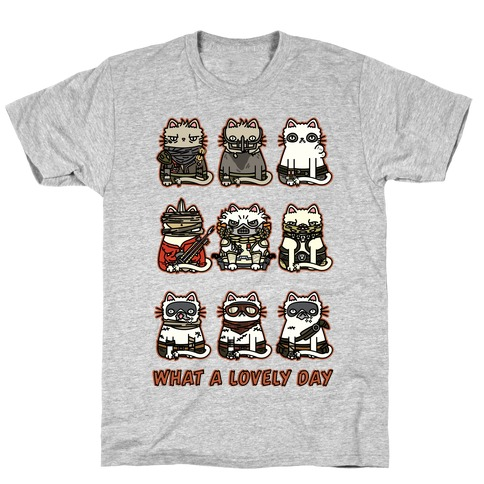 What a Lovely Day Cats T-Shirt