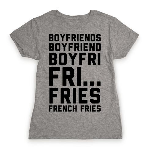 Boyfriends.. Womens T-Shirt