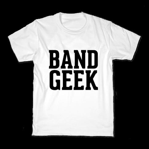 Band Geek Kids T-Shirt