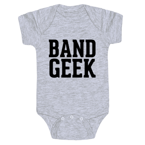 Band Geek Baby Onesy