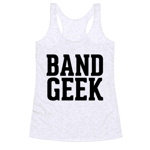 Band Geek Racerback Tank Top