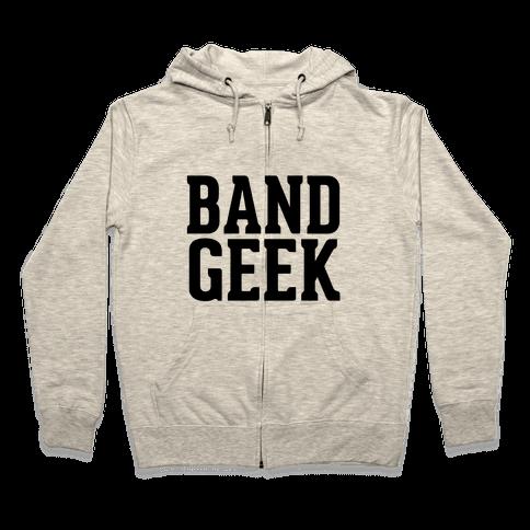 Band Geek Zip Hoodie