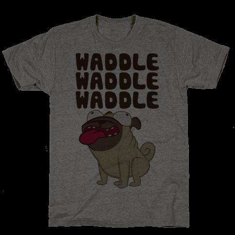 Waddle Waddle Waddle Mens T-Shirt
