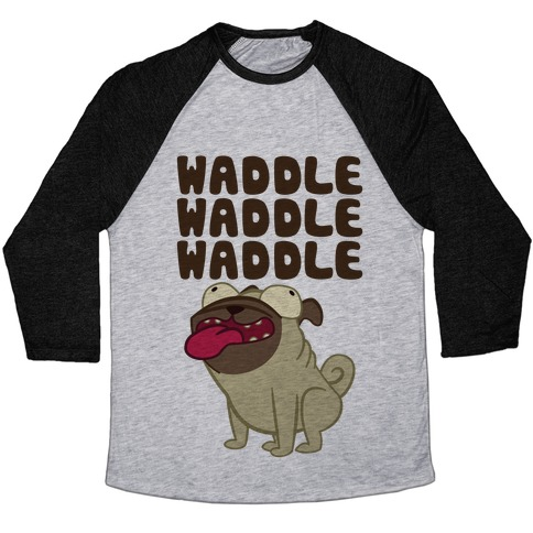 Waddle Waddle Waddle Baseball Tee