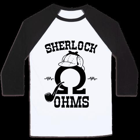 Sherlock Ohms Pair (Sherlock Ohms) Baseball Tee