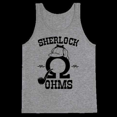 Sherlock Ohms Pair (Sherlock Ohms) Tank Top