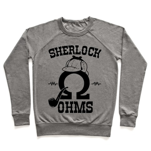 Sherlock Ohms Pair (Sherlock Ohms) Pullover