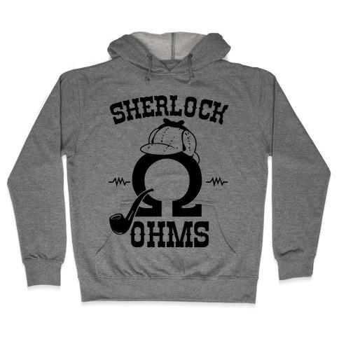 Sherlock Ohms Pair (Sherlock Ohms) Hooded Sweatshirt
