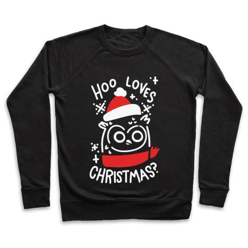 Hoo Loves Christmas? Pullover