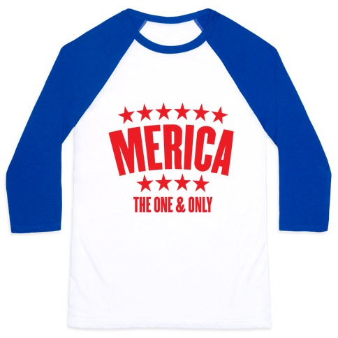 Merica (The One & Only) Baseball Tee