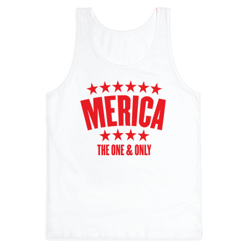 Merica (The One & Only) Tank Top