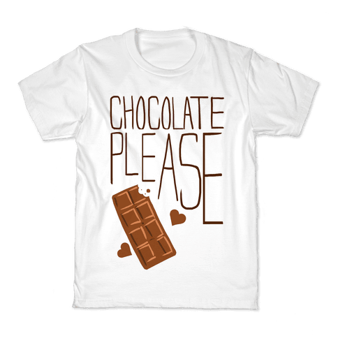 Chocolate Please (Tank) Kids T-Shirt