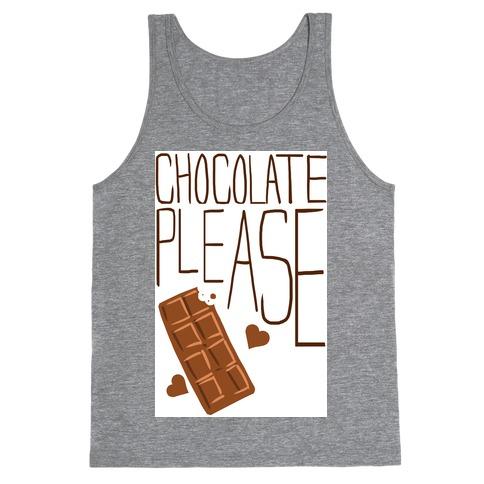 Chocolate Please (Tank) Tank Top