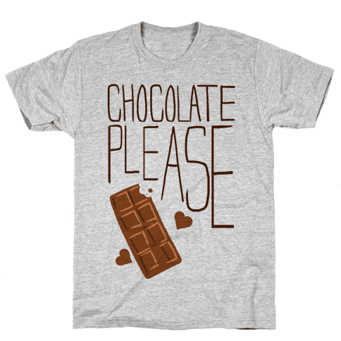 Chocolate Please (Tank) Mens T-Shirt