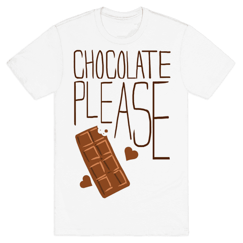Chocolate Please (Tank) Mens T-Shirt