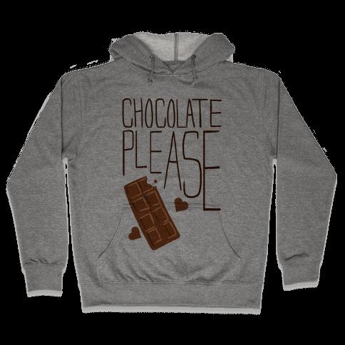 Chocolate Please (Tank) Hooded Sweatshirt