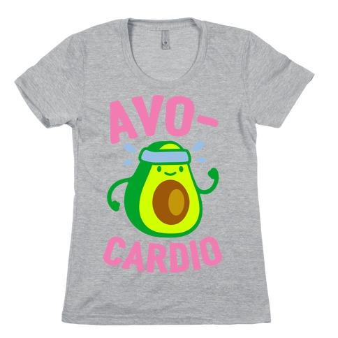Avocardio Avocado Womens T-Shirt