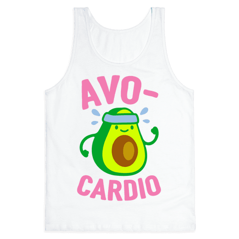 Avocardio Avocado Tank Top