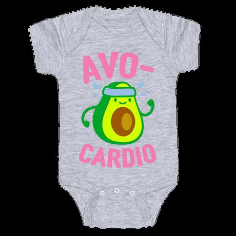 Avocardio Avocado Baby Onesy