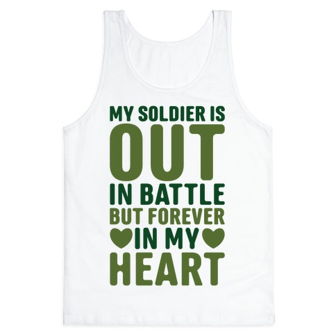 Out Soldier Tank Top