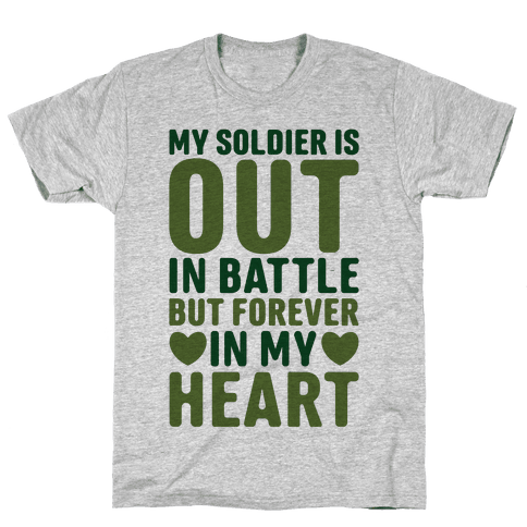 Out Soldier Mens T-Shirt