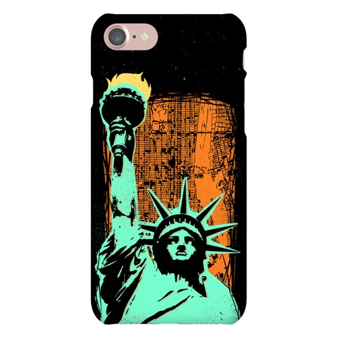 Liberty In The City Phone Case