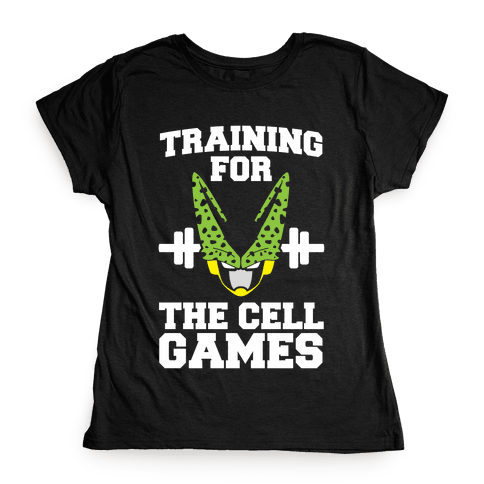 Training for the Cell Games Womens T-Shirt