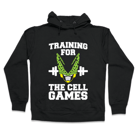 Training for the Cell Games Hooded Sweatshirt