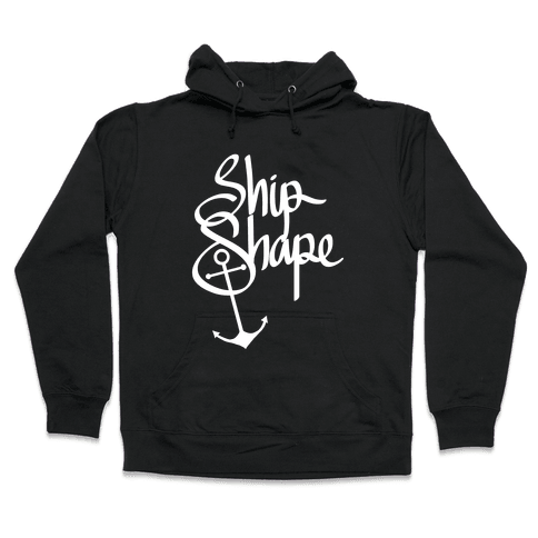 Ship Shape Hooded Sweatshirt