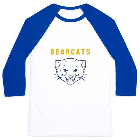 Bearcat Blue & Gold Baseball Tee