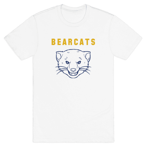 Bearcat Blue & Gold Mens T-Shirt