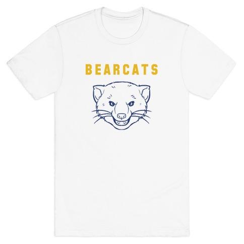 Bearcat Blue & Gold Mens T-Shirt