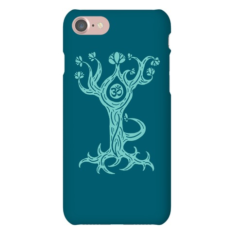 The Tree Pose Phone Case