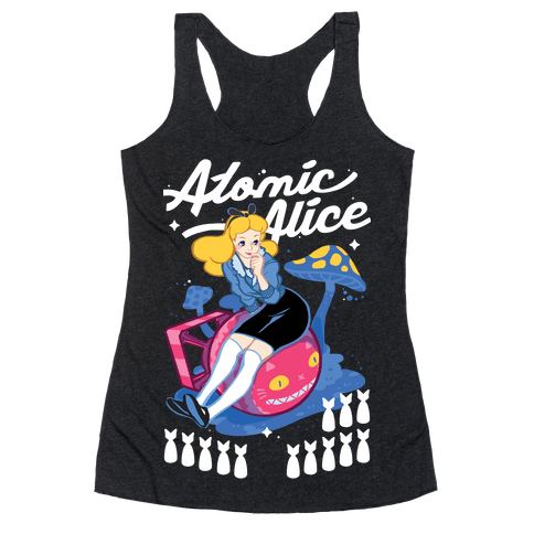 Atomic Alice Racerback Tank Top