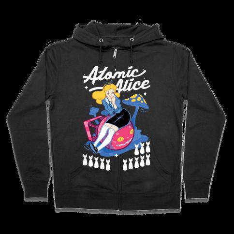Atomic Alice Zip Hoodie