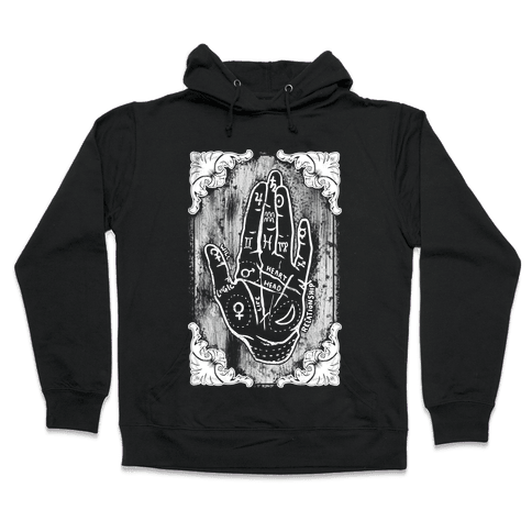 Palm Reading Hooded Sweatshirt