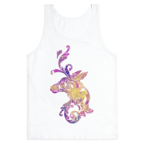 Decorative Deer Head Tank Top