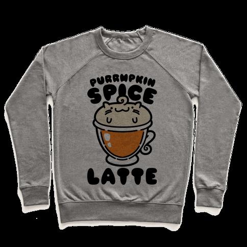 Purrmpkin Spice Latte Pullover