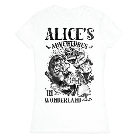 Alice's Adventures in Wonderland Womens T-Shirt
