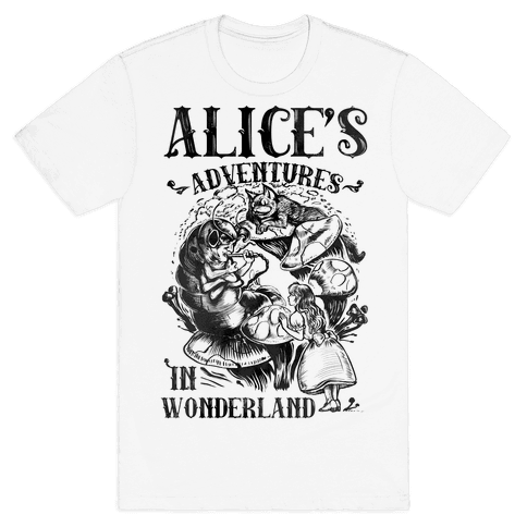 Alice's Adventures in Wonderland Mens T-Shirt