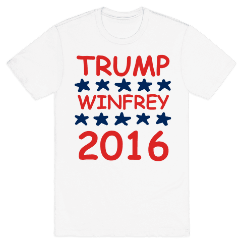 Trump Winfrey 2016 Mens T-Shirt