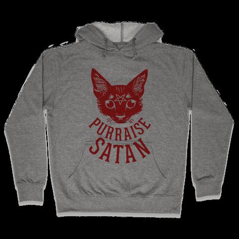 Purraise Satan Hooded Sweatshirt