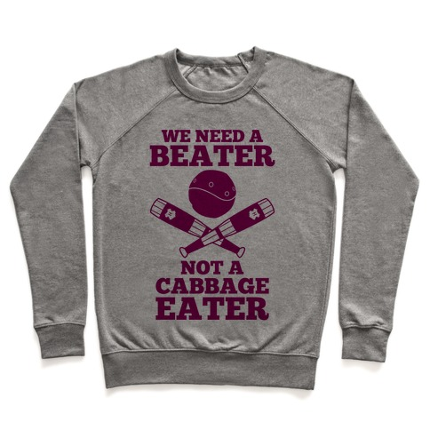 We Need a Beater Pullover