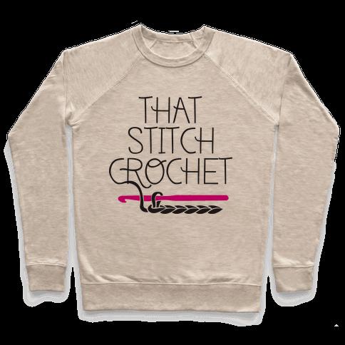 That Stitch Crochet! Pullover