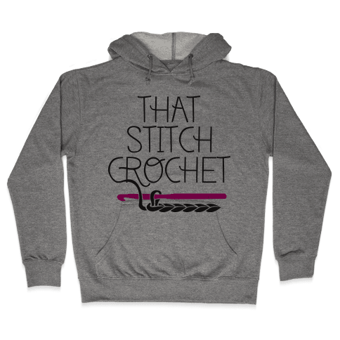 That Stitch Crochet! Hooded Sweatshirt
